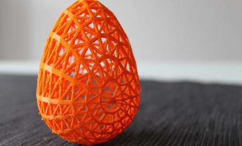 3D printed egg