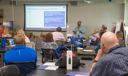 Teachers learn how to teach cybersecurity