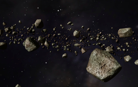 Asteroids in orbit