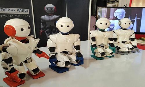 The dancing robot Surena Mini