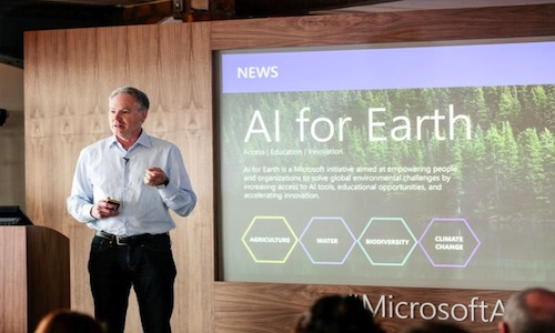 Erik Horvitz, managing director of Microsoft Research.