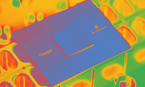 Google Bristlecone chip