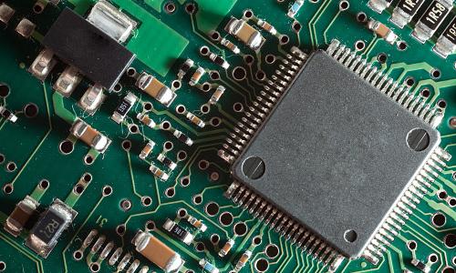 Photo of a CPU