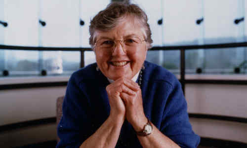 Frances Allen, the first woman to receive the ACM A.M. Turing Award.
