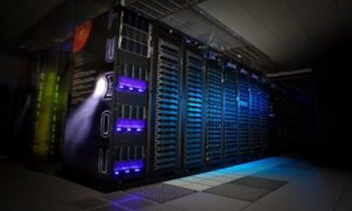 A photo of the San Diego Supercomputing Center.
