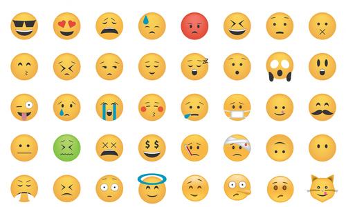 Grid of emojis