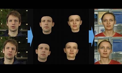 Facial transformations.