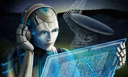 Robot listens for Fast Radio Bursts.