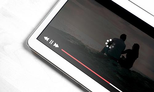 Video on tablet buffering