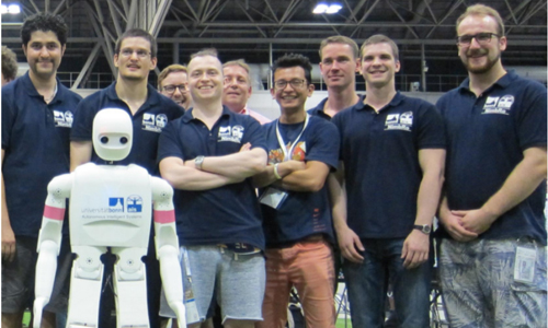 The 2017 World Cup's winning team and their robot NimbRo