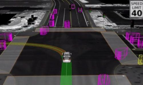 virtual driving landscape