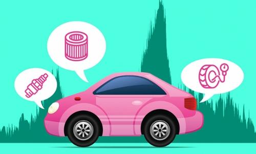 car diagnostics, illustration