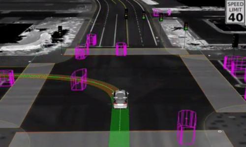 VR driving simulation