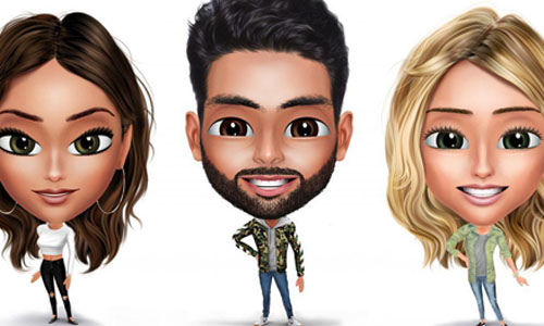 Avatars created by this new mobile app
