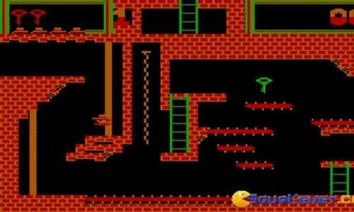 Screenshot of MR. Montezuma's Revenge, the classic Atari platform game