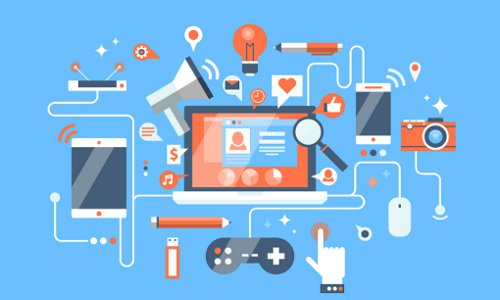 tech toolbox, illustration