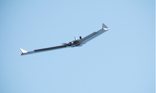 An American aircraft