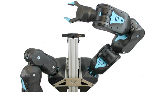 A picture of Blue, a new robot arm