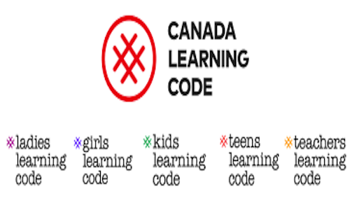 The Canada Learning Code logo