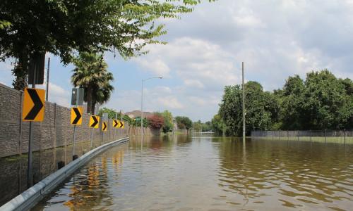 The flood after Hurricane Harvey