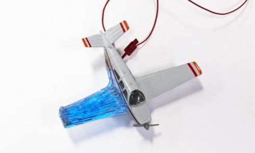 A model airplane