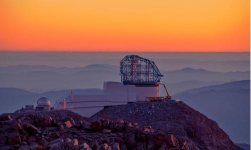 Under-construction Large Synoptic Survey Telescope
