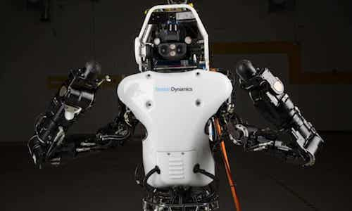 The Atlas humanoid robot.