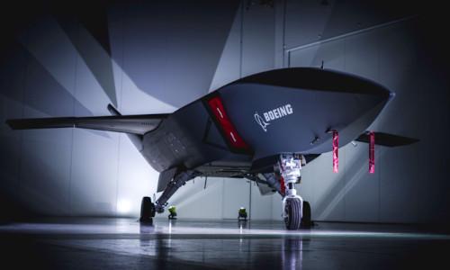 Boeing autonomous aircraft