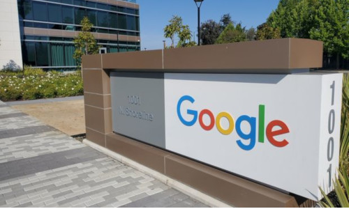 Sign of Google