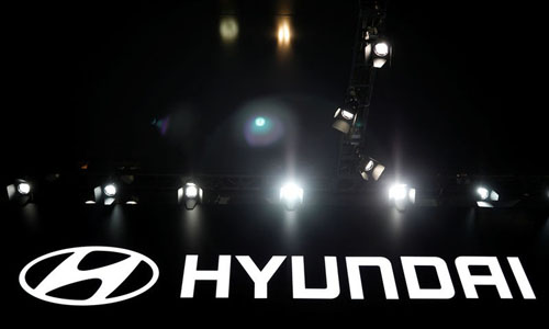 The Hyundai logo