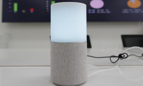 SK Telecom's AI speaker Nugu.