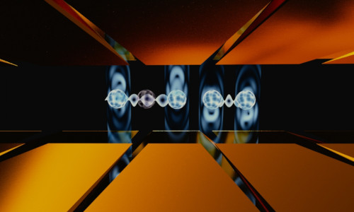 Researchers optimized laser pulses to execute parallel entangling gates between different pairs of qubits in a string of five ions.