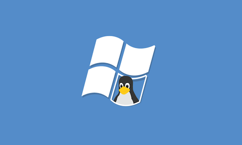 The Linux and Windows logos