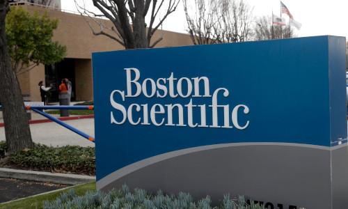 Sign of Boston Scientific
