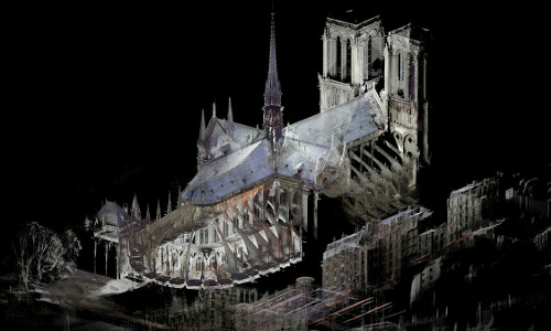 virtual twin of Notre Dame cathedral