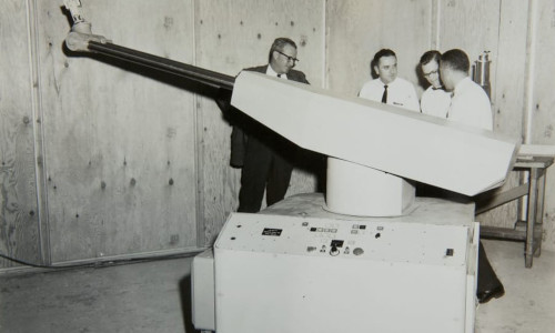 General Motors installed the world's first industrial robot, the Unimate, in 1961, to could take over repetitive, arduous, and hazardous tasks.