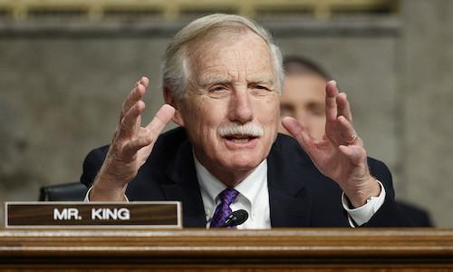 Photo of U.S. Senator Angus King.