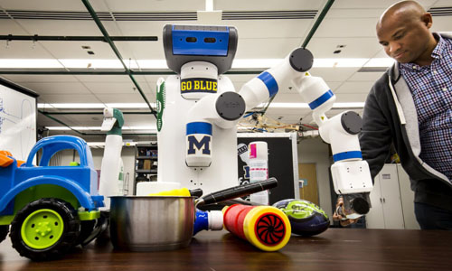 Quicker Eye for Robotics to Help in Our Cluttered, Human Environments