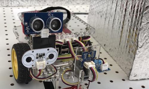 Georgia Tech's Honeybot robot