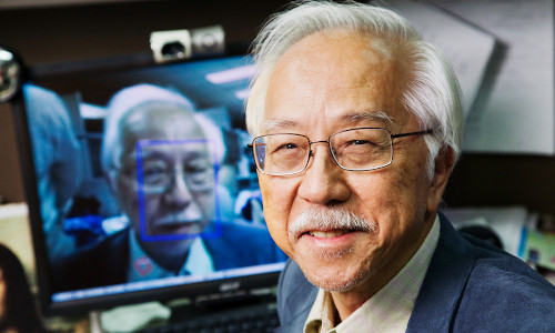 Electrical and computer engineering professor emeritus Thomas Huang.