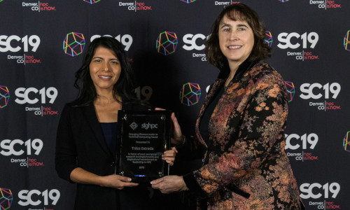Estrada named Emerging Woman Leader in Technical Computing award winner