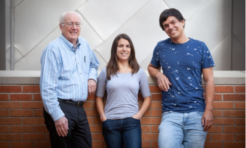 Scientist and grad students from MIT