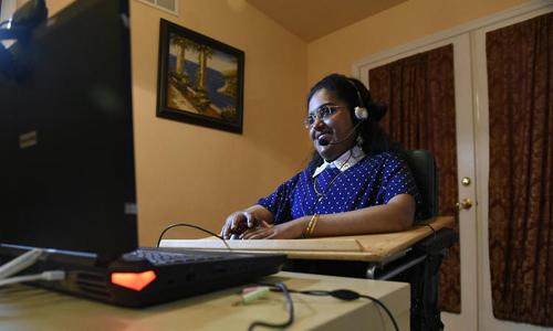 Baltimore County (UMBC) graduate student Kavita Krishnaswamy