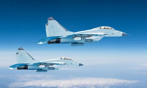 Two fighter jets