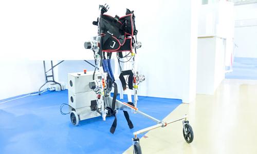 Robotic gait therapy: exoskeleton